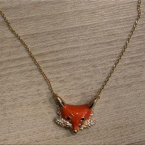 Kate Spade Fox necklace